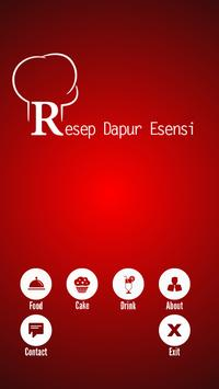 Resep Dapur Esensi#1 poster