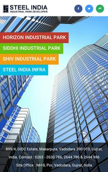 Steel India - Industrial Park poster
