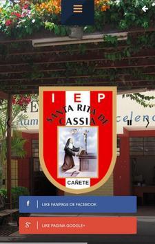 I.E.P Santa Rita de Cassia poster