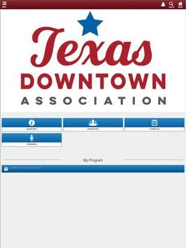 Texas Downtown Conference apk screenshot