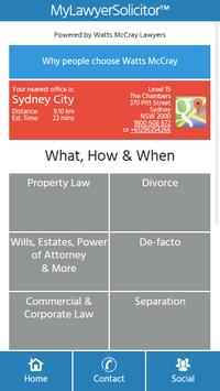 myLawyerSolicitor poster