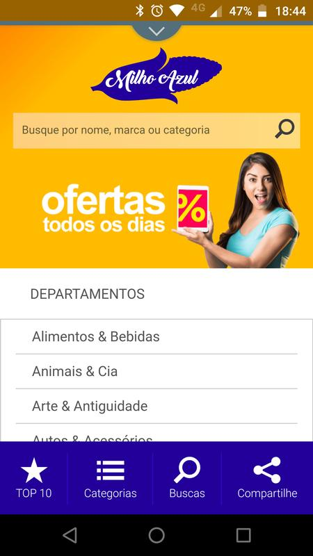 39ac0a908b MilhoAzul for Android - APK Download