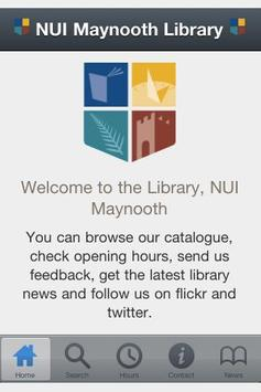 NUI Maynooth Library poster