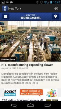 New York Business Journal poster