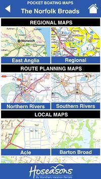 Norfolk Broads Tourist Map screenshot 1