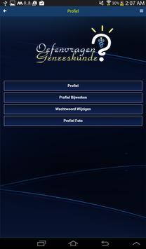 Oefenvragen Geneeskunde apk screenshot