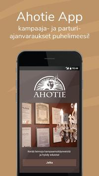 Ahotie mobiilikortti poster
