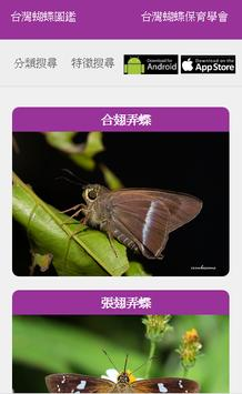 台灣蝴蝶圖鑑 poster