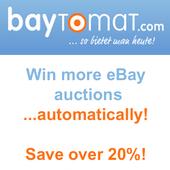 Baytomat Bid Sniper for eBay icon