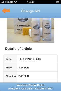 Baytomat Bid Sniper for eBay apk screenshot