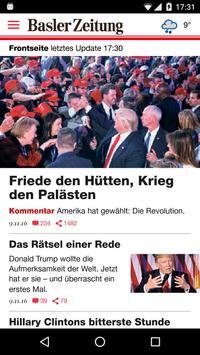 Basler Zeitung poster