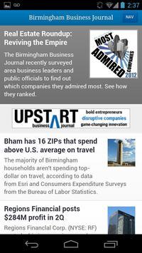 Birmingham Business Journal poster