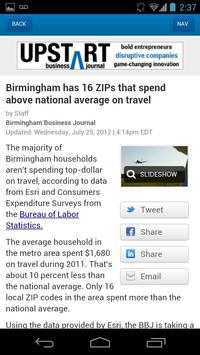 Birmingham Business Journal apk screenshot