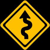 Curvy Route icon