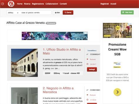 CercasiCasa - Annunci Immobiliari Gratuiti screenshot 4