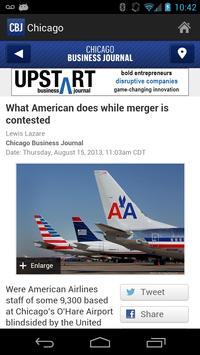 Chicago Business Journal apk screenshot