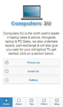 Computers 2U apk screenshot
