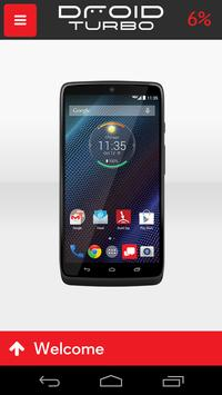Droid Turbo Verizon poster