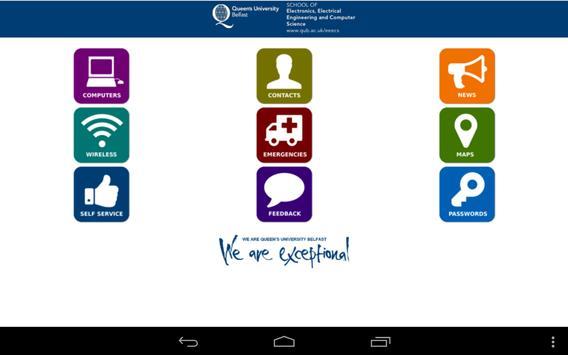 QUB School of EEECS apk screenshot