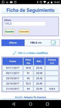 Ficha Seguimiento screenshot 2