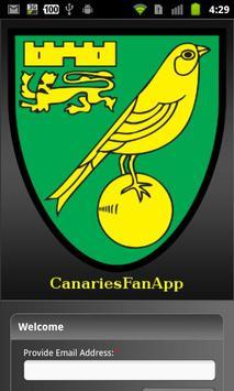 CanariesFanApp poster