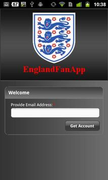 EnglandFanApp poster