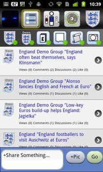 EnglandFanApp apk screenshot