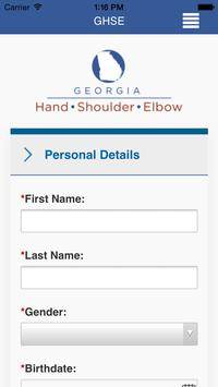 Georgia Hand, Shoulder & Elbow screenshot 1