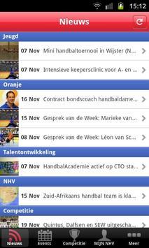 Handbal.nl competitie poster
