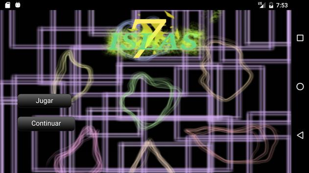 7 Islas: visual novel poster