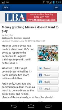 Jacksonville Business Journal apk screenshot