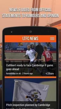 LTFC News poster