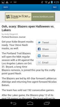 The Portland Business Journal screenshot 1