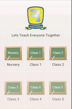 Rehan School poster