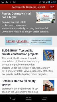 Sacramento Business Journal poster