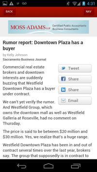 Sacramento Business Journal apk screenshot