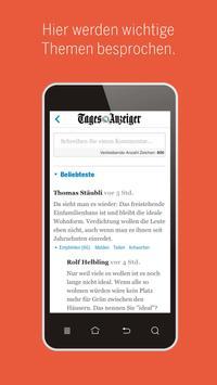 Tages-Anzeiger apk screenshot