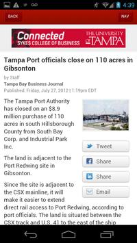 Tampa Bay Business Journal apk screenshot