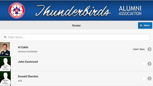 Thunderbirds Alumni Mobile apk screenshot