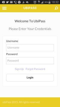 UbiPass screenshot 1