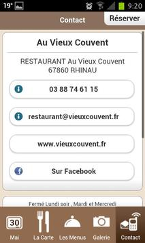 Au Vieux Couvent apk screenshot