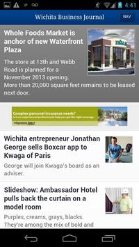 The Wichita Business Journal poster
