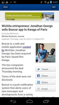 The Wichita Business Journal apk screenshot