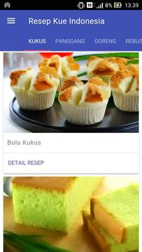 Resep Kue Indonesia poster