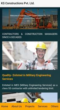KS Constructions Pvt. Ltd. apk screenshot