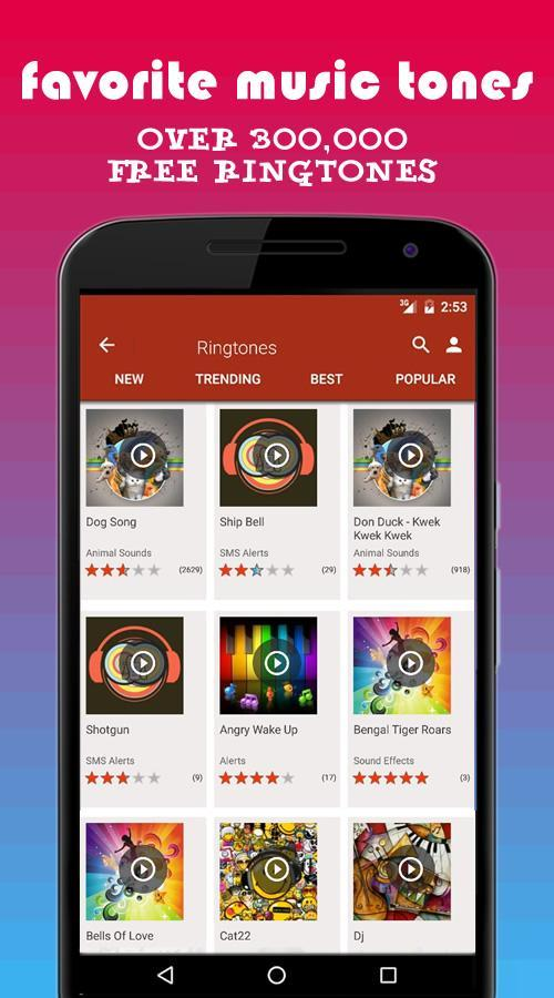 PHONEKY : Free Ringtones, HD & Live Wallpapers for Android