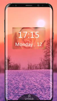 Super LED Digital Clock Live Wallpaper Pro poster