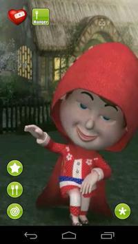 Talking Red Riding Hood apk screenshot