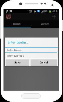 Phone Numbers Blocker apk screenshot