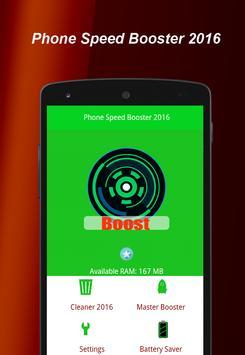 Phone Speed Booster 2016 apk screenshot